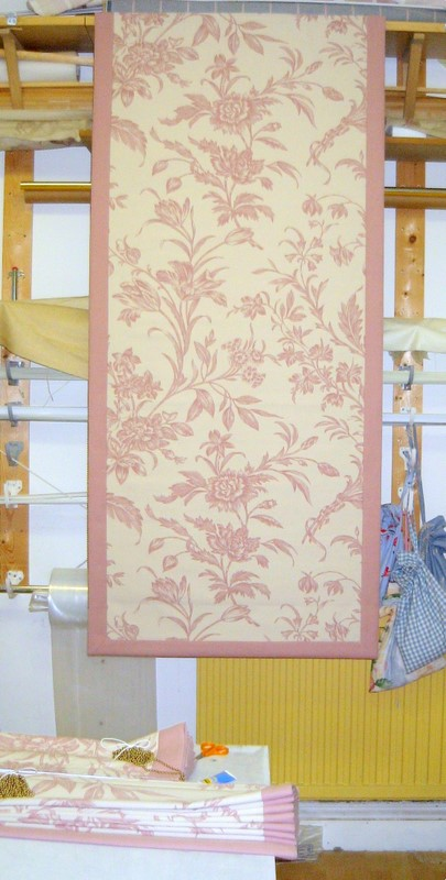 Laura Ashley fabric and blackout lining